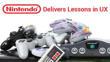 Nintendo delivers lessons in UX